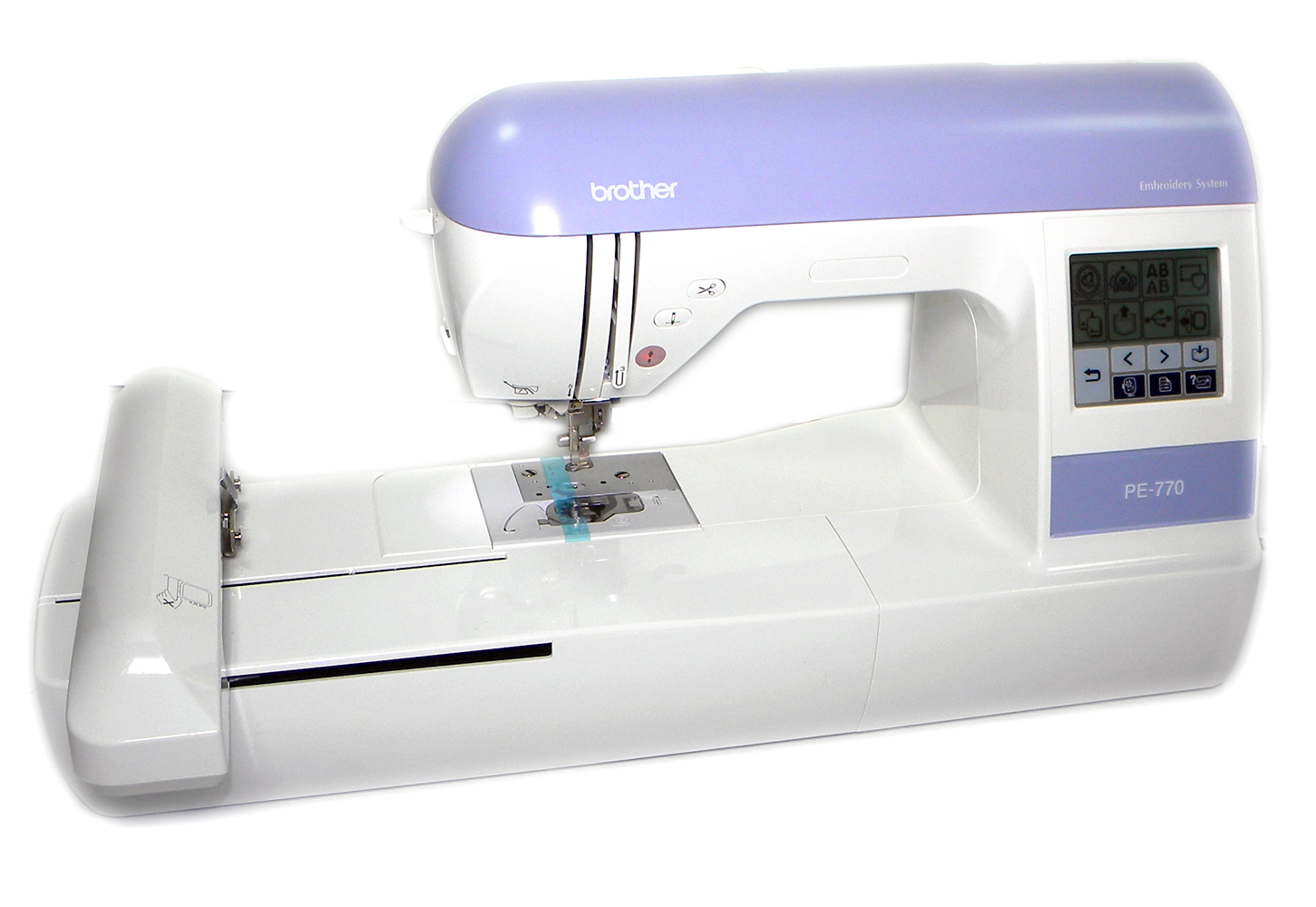 BROTHER PE770 EMBROIDERY MACHINE USB COMPATIBILITY PE770